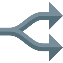 Arrow Fork Icon 256x256