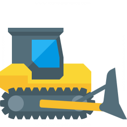 Bulldozer Icon 256x256