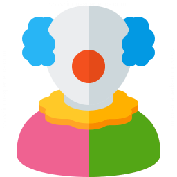 Clown Icon 256x256
