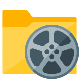 Folder Movie Icon 256x256