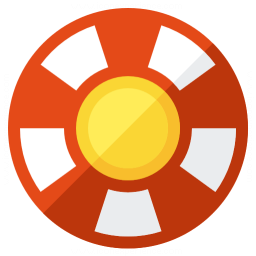Gambling Chip Icon 256x256