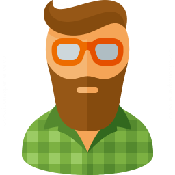 Hipster Icon 256x256