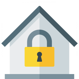 Home Lock Icon 256x256
