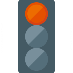 Trafficlight Red Icon 256x256