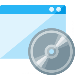 Window Cd Icon 256x256