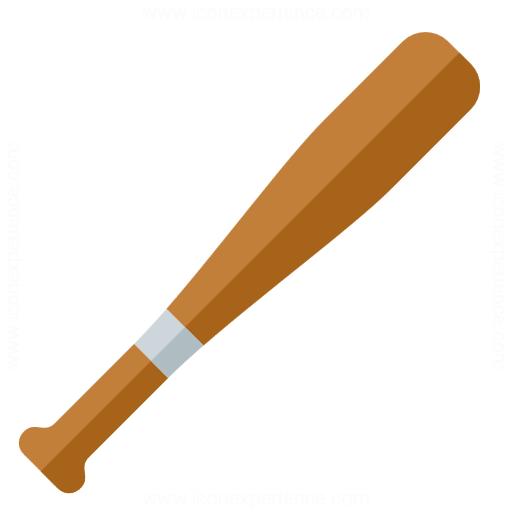iconexperience  u00bb g collection  u00bb baseball bat icon softball bat clipart free Inside of a Softball Bat
