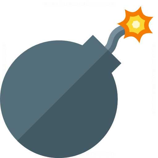 IconExperience » G-Collection » Bomb Icon