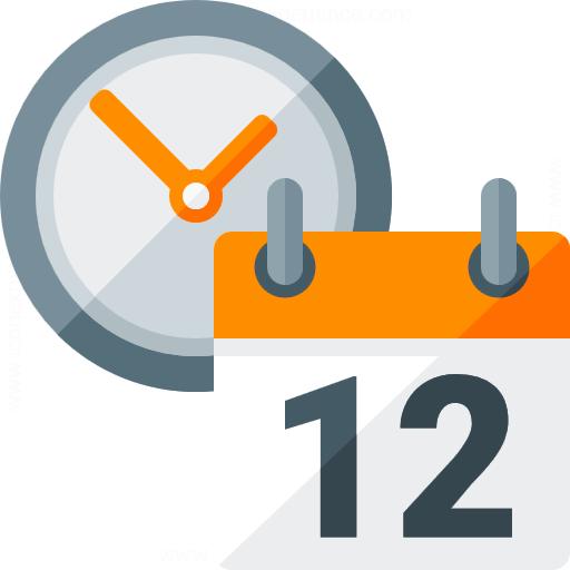 IconExperience » G-Collection » Calendar Clock Icon