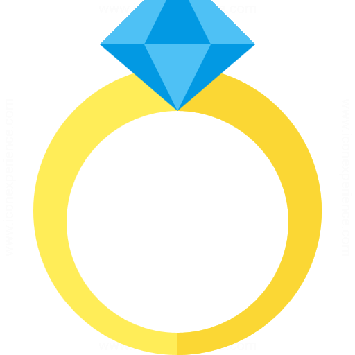 Diamond wedding rings png