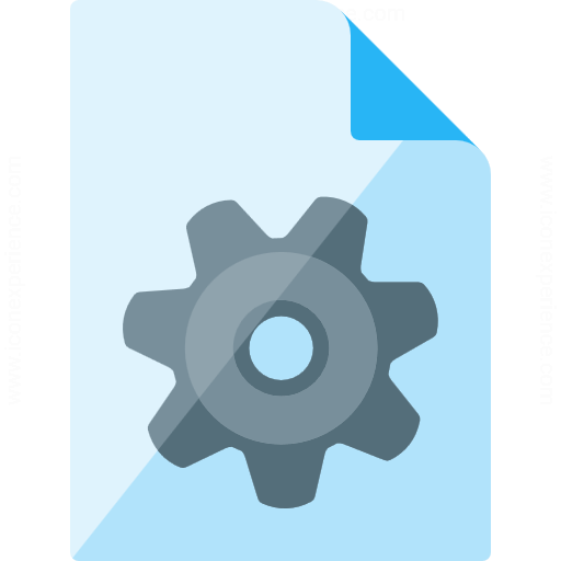 Document Gear Icon