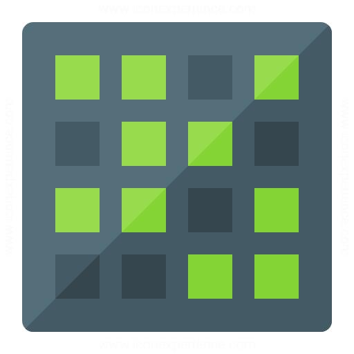 IconExperience » G-Collection » Dot Matrix Icon