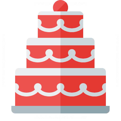IconExperience GCollection Fancy Cake Icon