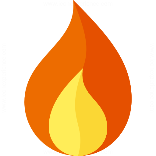 Flame Icon Png | www.pixshark.com - Images Galleries With ...