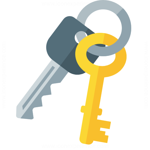 IconExperience » G-Collection » Keys Icon