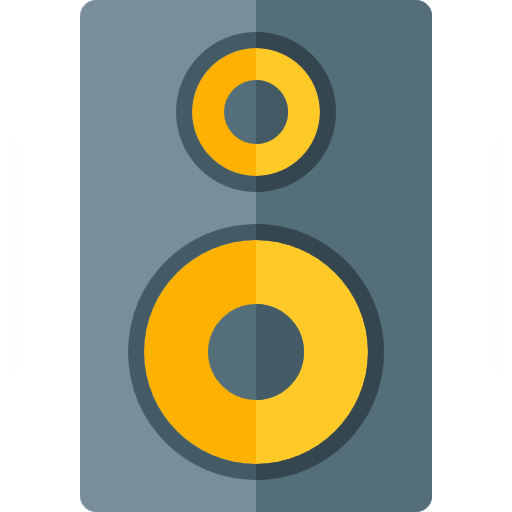 Loudspeaker Box Icon