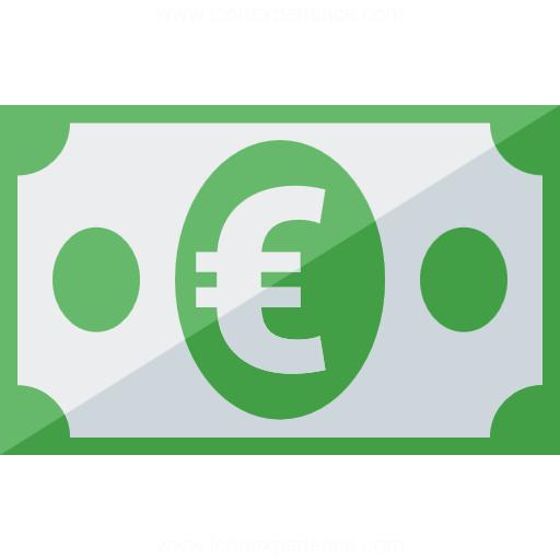 IconExperience » G-Collection » Money Euro Icon