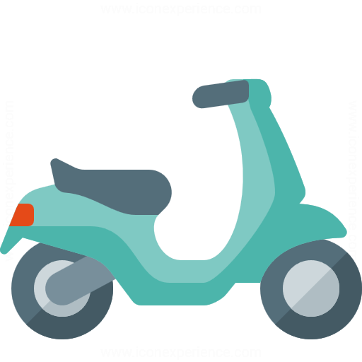 Pink moped 14