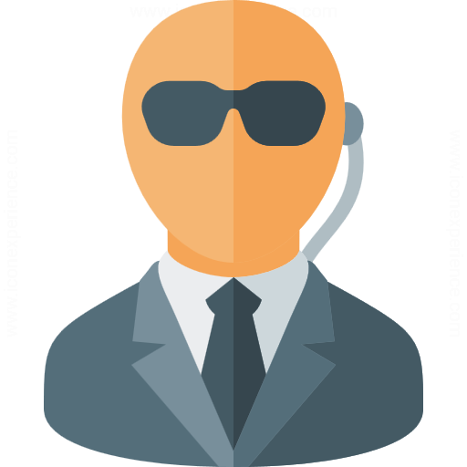 Iconexperience 187 G Collection 187 Security Agent Icon