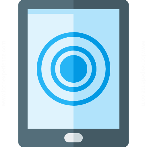Tablet Computer Touch Icon
