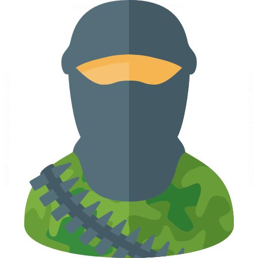 iconexperience  u00bb g collection  u00bb terrorist icon crime clipart free cybercrime clipart