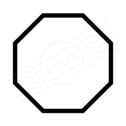 IconExperience » I-Collection » Shape Octagon Icon
