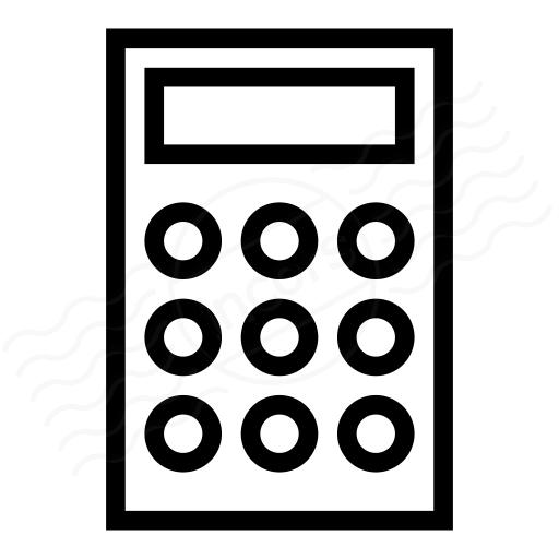 IconExperience » I-Collection » Calculator Icon