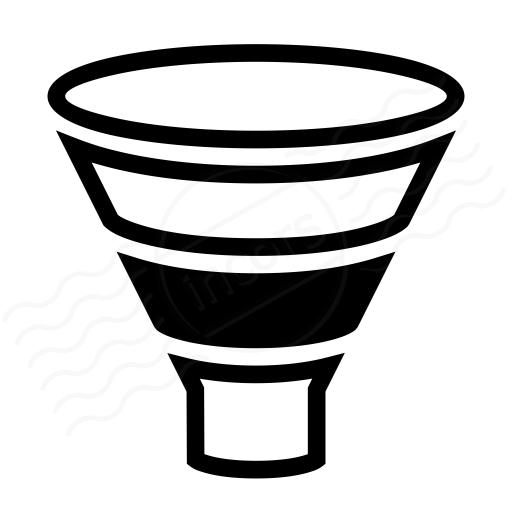 iconexperience » i-collection » chart funnel icon funnel diagram icon
