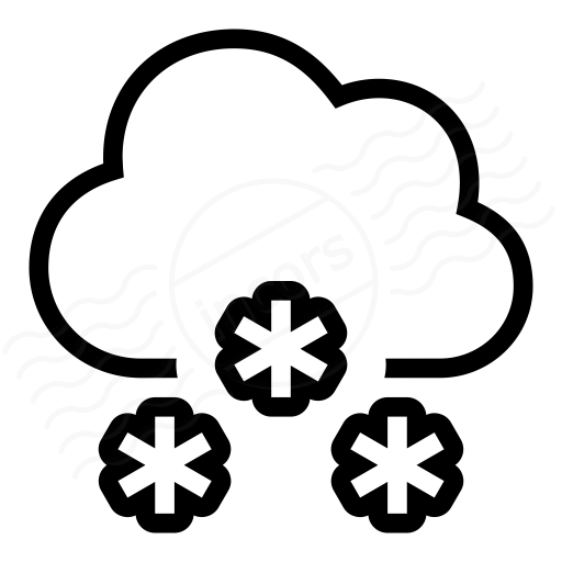 IconExperience » I-Collection » Cloud Snow Icon