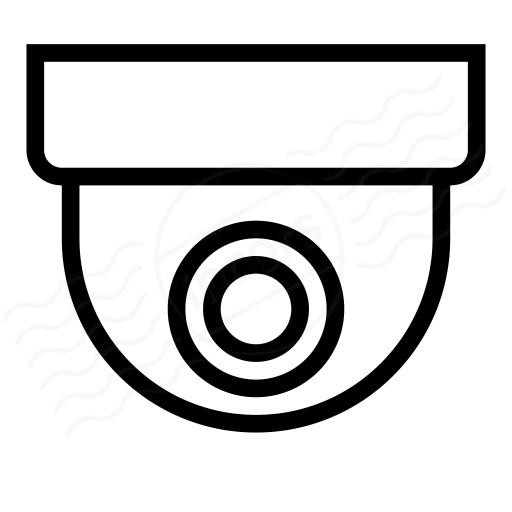 IconExperience » I-Collection » Dome Camera Icon