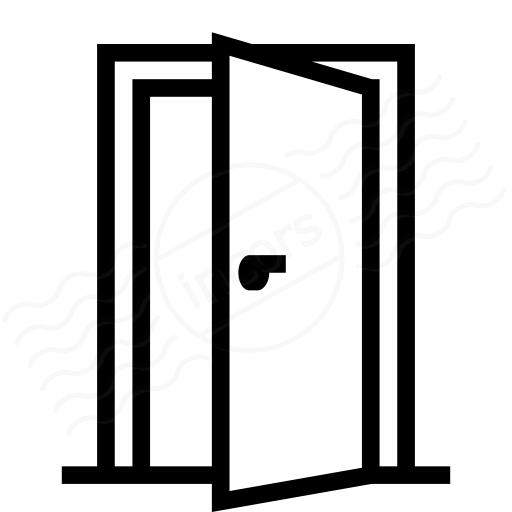 Open door vector png for 0pen door