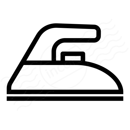 IconExperience » I-Collection » Electric Iron Icon: https://www.iconexperience.com/i_collection/icons/?icon=electric_iron