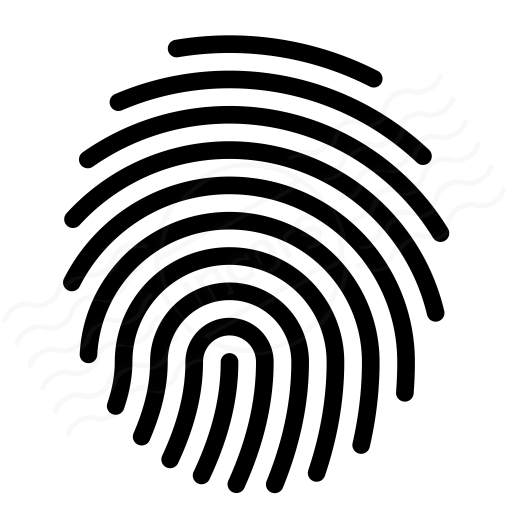IconExperience » I-Collection » Fingerprint Icon
