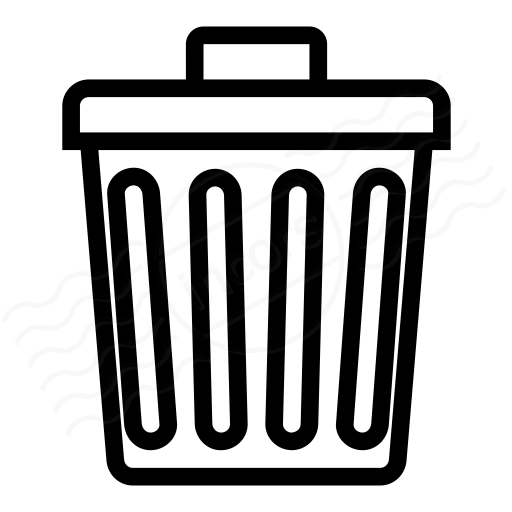 IconExperience » I-Collection » Garbage Can Icon
