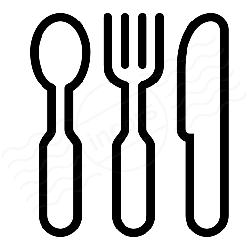 IconExperience » I-Collection » Knife Fork Spoon Icon