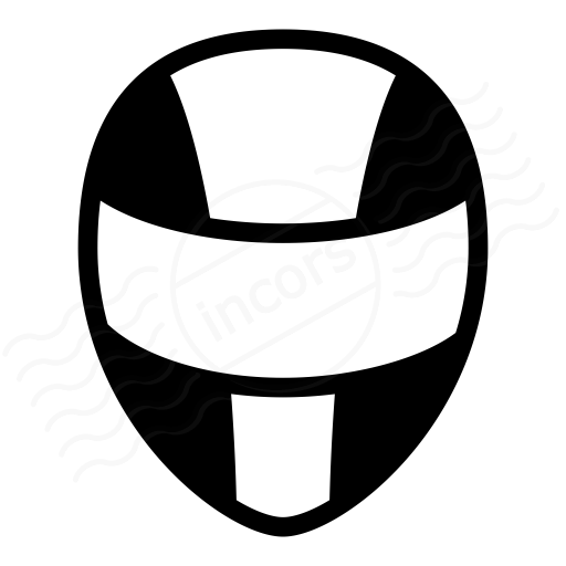 IconExperience » I-Collection » Motorcycle Helmet Icon