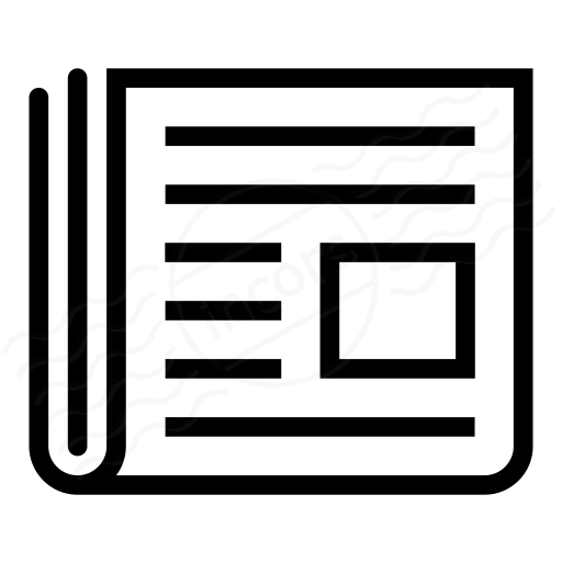 Image result for newspaper icon