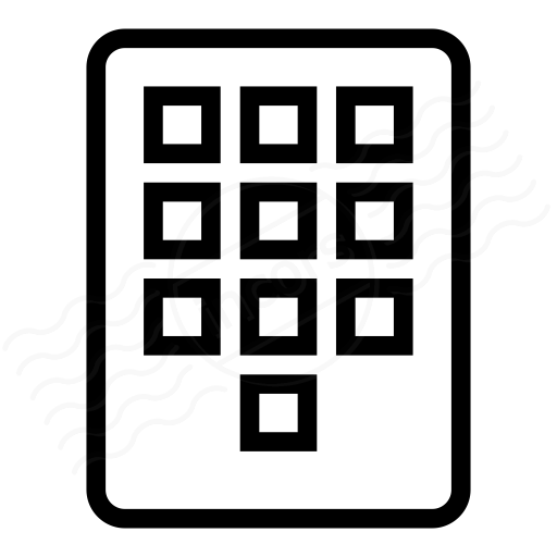 Keypad Icon Stock Photos, Royalty-Free Images & Vectors - Shutterstock