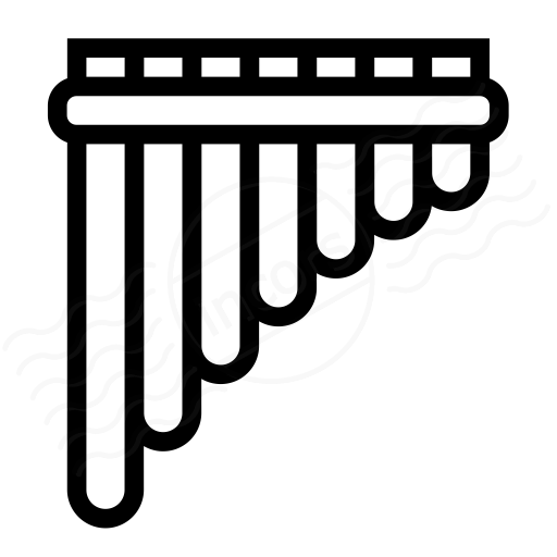iconexperience  u00bb i collection  u00bb pan flute icon Indian Peace Pipe Clip Art Smoking Pipe Clip Art