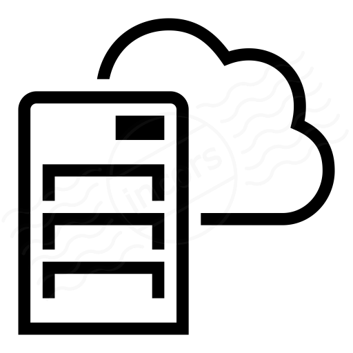 Iconexperience 187 I Collection 187 Server Cloud Icon