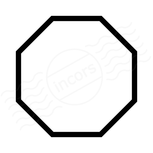 Number Names Worksheets octagon shape pictures : IconExperience » I-Collection » Shape Octagon Icon