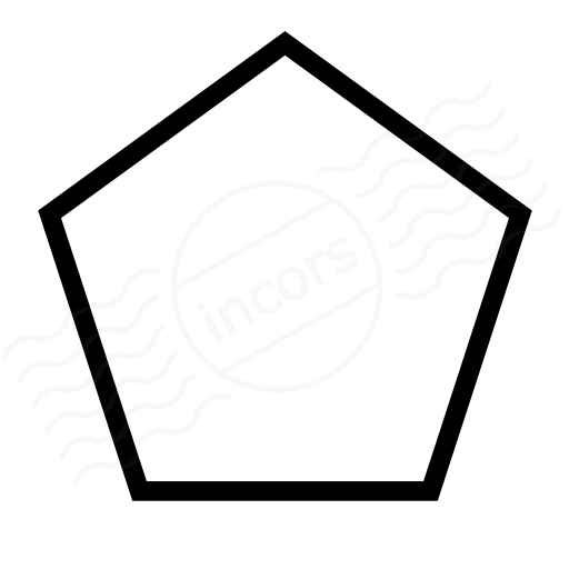 IconExperience » I-Collection » Shape Pentagon Icon