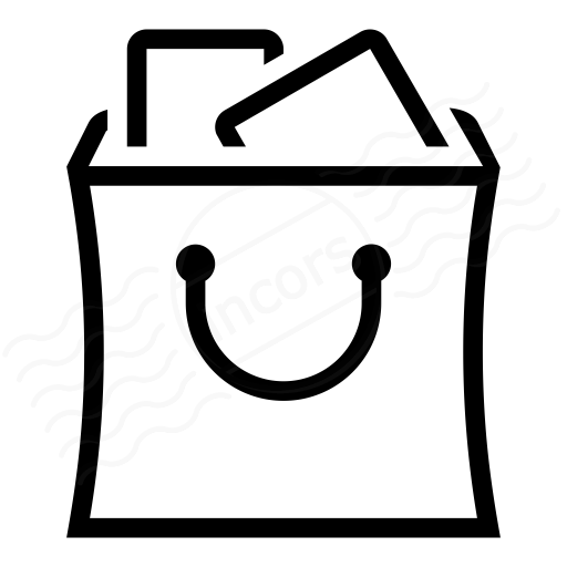 IconExperience » I-Collection » Shopping Bag Full Icon