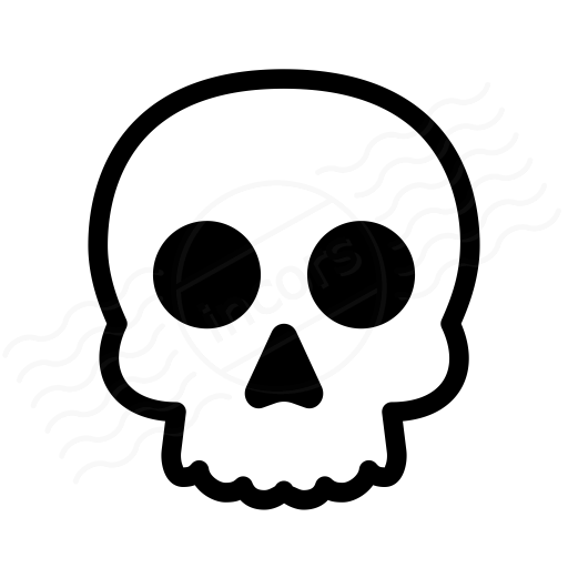 IconExperience » I-Collection » Skull Icon
