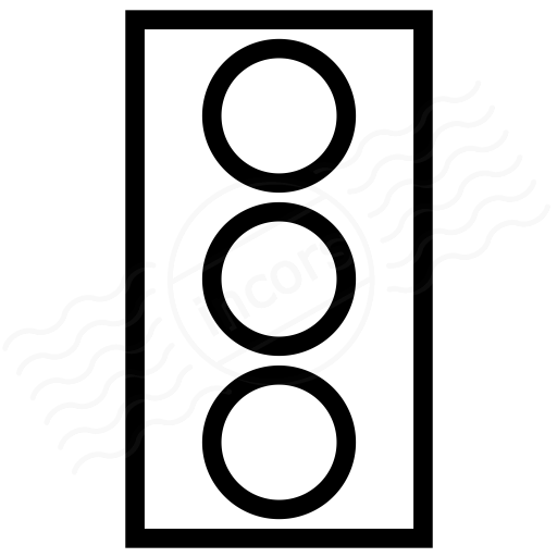 IconExperience I Collection Trafficlight Off Icon