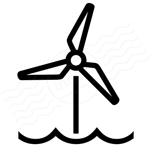IconExperience » I-Collection » Wind Engine Offshore Icon