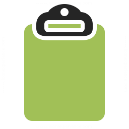 Clipboard Empty Icon 256x256