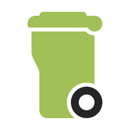 Garbage Container Icon 256x256