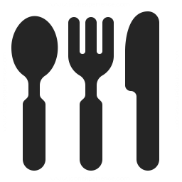 Knife Fork Spoon Icon 256x256