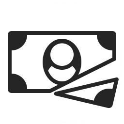 Money Bill Cut Icon 256x256