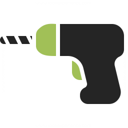 Power Drill Icon 256x256